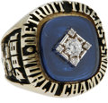 Baseball Collectibles:Others, 1984 Detroit Tigers World Championship Ring. A dead ringer (no pun intended) for the prize awarded to Alan Trammell for the...