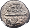 Ancients:Greek, Ancients: PHOENICIA. Byblus. Ozbaal or Azbaal (ca. 400-340 BC). ARshekel (26mm, 13.19 gm, 8h)....