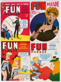 Magazines:Humor, Army and Navy Fun Parade File Copy Long Box Group (Fun Parade,1950s) Condition: Average VF.. ...