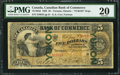 Canadian Currency: , Toronto, ON- Canadian Bank of Commerce $5 January 2, 1892 Ch. #75-14-04d Yukon Overprint. ...