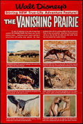 "Movie Posters:Documentary, The Vanishing Prairie (Buena Vista, 1954). One Sheets (2) (27"" X 41"" & 27"" X 40"") Styles A & B. Documentary.. ... (Total: 2 Items)"
