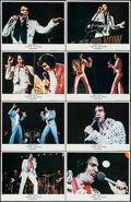 "Movie Posters:Elvis Presley, Elvis on Tour (MGM, 1972). Lobby Card Set of 8 (11"" X 14""). ElvisPresley.. ... (Total: 8 Items)"