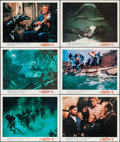 """Movie Posters:Science Fiction, 20,000 Leagues Under the Sea (Buena Vista, 1954). Lobby Cards (6)(11"""" X 14""""). Science Fiction.. ... (Total: 6 Items)"""