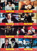"""Movie Posters:Crime, Pulp Fiction (Miramax, 1994). French Lobby Card Set of 12 (9"""" X13.25""""). Crime.. ... (Total: 12 Items)"""
