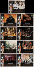 """Movie Posters:Fantasy, Excalibur (Warner Brothers, 1981). Lobby Card Set of 9 (11"""" X 14""""). Fantasy.. ... (Total: 9 Items)"""