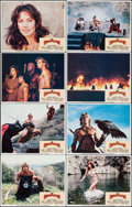 "Movie Posters:Fantasy, The Beastmaster (MGM/UA, 1982). Lobby Card Set of 8 (11"" X 14"").Fantasy.. ... (Total: 8 Items)"