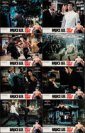 """Movie Posters:Action, The Chinese Connection (Golden Communications, R-Early 1980s).English Language Hong Kong Lobby Card Set of 8 (11"""" X 14"""") Ac...(Total: 8 Items)"""