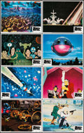 """Movie Posters:Animation, Heavy Metal (Columbia, 1981). Lobby Card Set of 8 (11"""" X 14""""). Animation.. ... (Total: 8 Items)"""