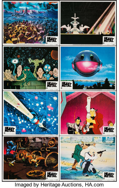 Heavy Metal Columbia 1981 Lobby Card Set Of 8 11 X 14 Lot 53203 Heritage Auctions