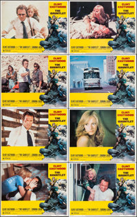 "The Gauntlet (Warner Brothers, 1977). Lobby Card Set of 8 (11"" X 14""). Action. ... (Total: 8 Items)"