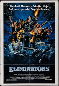"""Eliminators & Others Lot (Empire, 1986). One Sheets (5) (27"""" X 41""""). Science Fiction. ... (Total: 5 Items)"""
