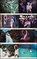 "Movie Posters:Adventure, Romancing the Stone (20th Century Fox, 1984). Lobby Card Set of 8(11"" X 14""). Adventure.. ... (Total: 8 Items)"