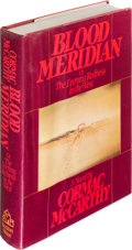 Books:Literature 1900-up, Cormac McCarthy. Blood Meridian, or the Evening Rednessin the West. New York: Random House, [1985]. First editi...