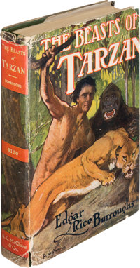 Edgar Rice Burroughs. The Beasts of Tarzan. Chicago: A. C. McClurg & Co., 1916. First edition