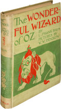 Books:Children's Books, L. Frank Baum. The Wonderful Wizard of Oz. Chicago and NewYork: George M. Hill Company, 1900. First edition, second...