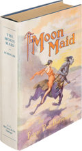 Books:Science Fiction & Fantasy, Edgar Rice Burroughs. The Moon Maid. Chicago: A. C. McClurg & Co., 1926. First edition. Presentation copy, inscrib...