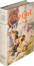 Books:Science Fiction & Fantasy, Edgar Rice Burroughs. The Cave Girl. Chicago: A. C. McClurg& Co., 1925. First edition....