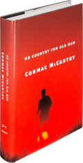 Books:Literature 1900-up, Cormac McCarthy. No Country for Old Men. New York: Alfred A.Knopf, 2005. First edition. Inscribed by McCarthy on ...