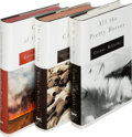 Books:Literature 1900-up, Cormac McCarthy. The Border Trilogy, including All thePretty Horses [and:] The Crossing [and:] ... (Total:3 Items)