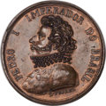 Brazil, Brazil: Pedro I electrotype Medal for the Foundation of the Academyof Fine Arts 1826 AU,...