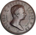 Brazil, Brazil: Gaston d'Orleans bronze and wood Medal Pair 1871,...(Total: 2 medals)