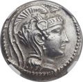 Ancients:Greek, Ancients: ATTICA. Athens. Ca. 165-42 BC. AR tetradrachm (31mm,16.86 gm, 11h)....