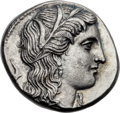 Ancients:Greek, Ancients: EPIROTE KINGDOM. Pyrrhus (297-272 BC). AR 5 litrae oroctobol (17mm, 5.25 gm, 12h)....