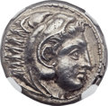 Ancients:Greek, Ancients: MACEDONIAN KINGDOM. Alexander III the Great (336-323 BC).AR tetradrachm (24mm, 17.05 gm, 11h). ...