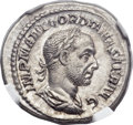 Ancients:Roman Imperial, Ancients: Gordian I Africanus (AD 238). AR denarius (19mm, 3.23 gm,5h)....