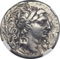 Ancients:Greek, Ancients: SELEUCID KINGDOM. Demetrius I Soter (162-150 BC). AR tetradrachm (27mm, 16.76 gm, 9h)....