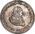 Colombia, Colombia: Ferdinand VII silver Uniface Proclamation of Santa Fe deBogota Medal ND (1808) UNC,...