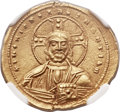 Ancients:Byzantine, Ancients: Basil II Bulgaroctonos (AD 976-1025), with ConstantineVIII. AV tetarteron nomisma (20mm, 4.21 gm, 6h). ...