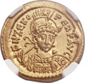 Ancients:Roman Imperial, Ancients: Zeno, Eastern Roman Emperor (AD 474-491). AV solidus (21mm, 4.46 gm, 6h)....