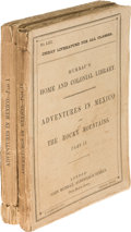 Books:Americana & American History, George F. Ruxton. Adventures in Mexico and the RockyMountains. London: John Murray, 1847. First edition, wrappe...(Total: 2 Items)