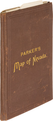 [John W. Parker]. Map of the State of Nevada compiled by John W. Parker, Chief Draughtsman of the U.S. Sur. Gen
