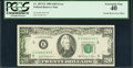 Error Notes:Offsets, Fr. 2073-E $20 1981 Federal Reserve Note. PCGS Extremely Fine 40.....