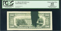Error Notes:Ink Smears, Fr. 2081-D $20 1995 Federal Reserve Note. PCGS Apparent ChoiceAbout New 55.. ...