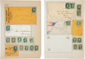 Miscellaneous:Ephemera, Small Confederate Collection of Postal Items....