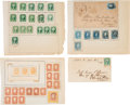 Miscellaneous:Ephemera, Collection of Confederate General Issue Stamps....