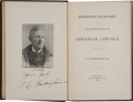 Books:Americana & American History, Book of Lincoln Reminiscences by Ford's Theater Doorman J. E.Buckingham, Signed by the Author....