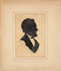 Political:Presidential Relics, Abraham Lincoln: From-Life Sketch Taken at Richmond....