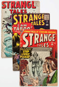 Golden Age (1938-1955):Science Fiction, Strange Tales Group of 10 (Atlas/Marvel, 1954-63) Condition:Average GD.... (Total: 10 Comic Books)