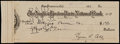Baseball Collectibles:Others, 1931 Ty Cobb Signed Check....
