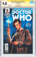 Modern Age (1980-Present):Science Fiction, Doctor Who: The Eleventh Doctor #1 Second Printing - SignatureSeries (Titan Comics, 2014) CGC NM/MT 9.8 White pages....