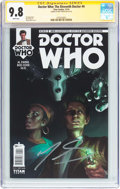 Modern Age (1980-Present):Science Fiction, Doctor Who: The Eleventh Doctor #4 Signature Series (Titan Comics,2014) CGC NM/MT 9.8 White pages....