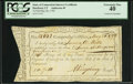 Colonial Notes:Connecticut, State of Connecticut Interest Certificate PCGS Extremely Fine 40.....