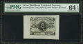 Fractional Currency:Third Issue, Fr. 1236SP 5¢ Third Issue Wide Margin Face PMG Choice Uncirculated 64 EPQ.. ...