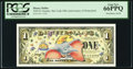 Miscellaneous:Other, Disney Dollar 2005 $1 Dumbo; Disneyland Back PCGS Gem New 66PPQ.....