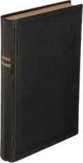 Books:Religion & Theology, [Holy Bible]. Cherokee New Testament. New York: 1860. Firstedition....