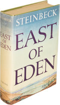 Books:Literature 1900-up, John Steinbeck. East of Eden. New York: 1952. Firstedition....